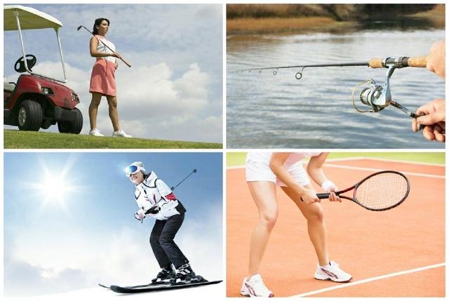 ゴルフ・スキー・テニス・キャンプ・つりなどのスポーツ、レジャーのための傷害総合保険